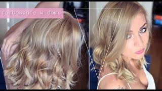 getlinkyoutube.com-FARBOWANIE WŁOSÓW W DOMU moja technika ✿ chłodny naturalny blond Koleston 9/16 ✿ ThePinkRook
