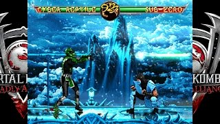 getlinkyoutube.com-Mortal Kombat Deadly Alliance TE MUGEN Cyber Reptile playthrough