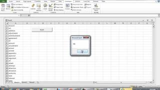 getlinkyoutube.com-Search through Cells Containing String using VBA Excel Programming