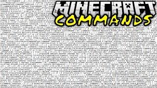 DER LÄNGSTE COMMAND EVER! | Minecraft Commands #16 | ConCrafter