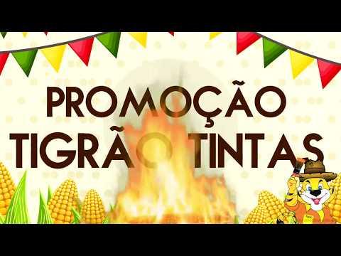 Promoção da Tigrão Tintas pra rebenta com tudo neste sábado, 24 em Goioerê fala com o compadre Zé Nilton