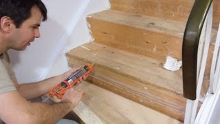 getlinkyoutube.com-New treads for old stairs