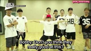 getlinkyoutube.com-[ENGSUB] MIX & MATCH Unreleased Vid - Jinhwan and Donghyuk Dance