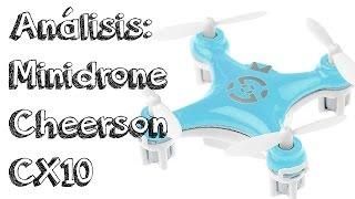 getlinkyoutube.com-ANALISIS MINI DRONE CHEERSON CX10 EN ESPAÑOL: ¿El mejor mini drone calidad precio barato del mundo?