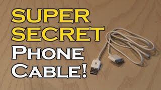 getlinkyoutube.com-SUPER SECRET Phone Cable!