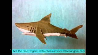 getlinkyoutube.com-origami shark instructions