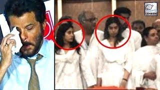 Jhanvi And Khushi Kapoor's First Reaction After Seeing Sridevi Mortal Remains | लहरें गपशप