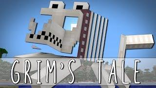 getlinkyoutube.com-GRIM'S TALE | How I Met Grim The Skeleton Dog | Minecraft