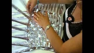 getlinkyoutube.com-Comparte tu talento:Bolso hecho con papel de café