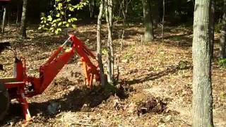 getlinkyoutube.com-Homemade  BackHoe Thumb For Kubota