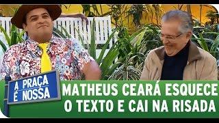getlinkyoutube.com-A Praça É Nossa (11/06/15) - Matheus Ceará esquece o texto e diverte Carlos Alberto