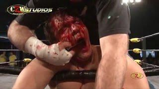getlinkyoutube.com-CZW: Jon Moxley vs. Nick Gage (CZWstudios.com) 3/13/10 [Dean Ambrose, The Shield, Smackdown]