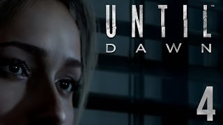 GETTING A LITTLE SPOOPY IN HERE | Until Dawn - Part 4