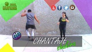 "getlinkyoutube.com-ZUMBA 2016 - SHAKIRA ft MALUMA - ""CHANTAJE"""