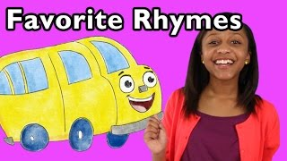 getlinkyoutube.com-The Wheels on the Bus and More Favorite Rhymes | Nursery Rhymes from Mother Goose Club!