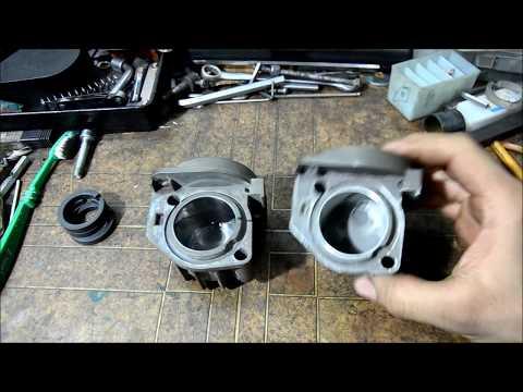 Ремонт компрессора пневмоподвески.Разборка , замена поршневого кольца и цилиндра