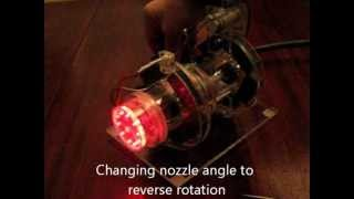 getlinkyoutube.com-Tesla Turbine With Magnetic Bearings II