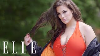 Ashley Graham on How to Find The Perfect Swimsuit | ELLE