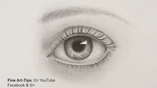 getlinkyoutube.com-How to Draw a Realistic Eye - With Pencil- Drawing Tutorial