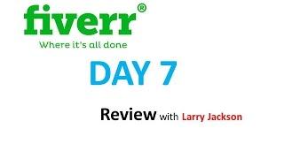 getlinkyoutube.com-Fiverr Day 7 Review 2016 with Larry Jackson fiverr logo design 2016
