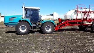 Трактор ХТЗ-243К и культиватор ALCOR 10