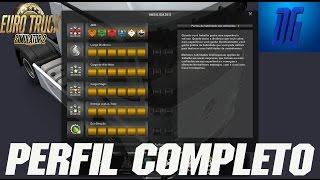 getlinkyoutube.com-PERFIL Completo do Euro Truck Simulator 2 - SAVE GAME - V.1.20 Acima