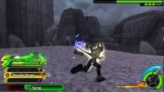 getlinkyoutube.com-[Texture Hack] KH: Birth by Sleep - Final Mix - Ventus Nightmare Armor vs Beta Red Eyes Figure