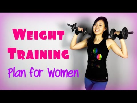Full Weight Training Plan for Women