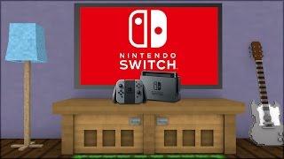 Minecraft: COMO SERIA O NINTENDO SWITCH NO MINECRAFT? (BUILD BATTLE)