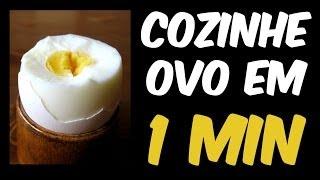 getlinkyoutube.com-Como cozinhar ovo em 1 minuto