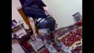 getlinkyoutube.com-رقص بنات ساخن رقص منزلي دقني معلاية سعودي Very Hot Saudi Belly Dance