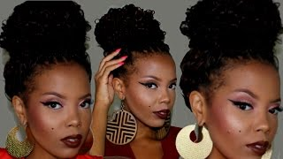 HOW TO | 4 EASY #CROCHETBRAID UPDO STYLES | OUTRE 4 IN 1 LOOP CROCHET | TASTEPINK