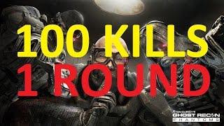 getlinkyoutube.com-100 KILLS IN 1 ROUND! Ghost Recon Phantoms!!!!! 22 killstreak