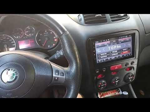 Alfa Romeo 147 Q2, steering wheel on Android Multimedia