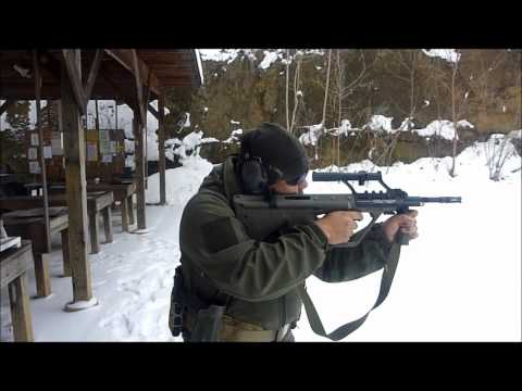 MSAR STG556 E4 Shooting Overview
