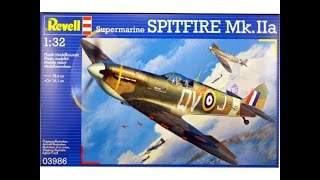 getlinkyoutube.com-What's in the Box?  The 1/32 Revell Spitfire Mk. II a (new tool)