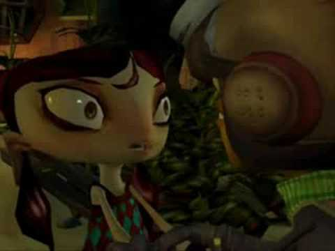Psychonauts - Lili kidnapped!