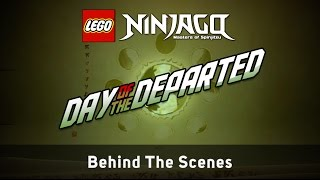 "getlinkyoutube.com-LEGO NINJAGO Making The Video ""Day of the Departed"" by The Fold"