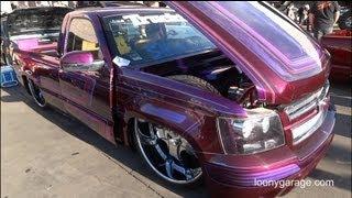 getlinkyoutube.com-Custom Nokturnal Chevrolet Pickup Show Truck