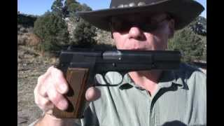 Speed Shooting the Majestic Belgium Browning Hi-Power Pistol