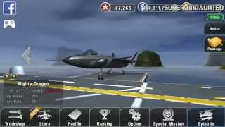 getlinkyoutube.com-[GUNSHIP BATTLE] NEW UPDATE - J-20 Mighty Dragon Upgrade/Weapons System