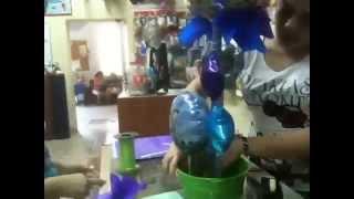 getlinkyoutube.com-Armando globos de toy story 3