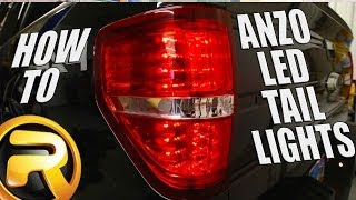 getlinkyoutube.com-How to Install LED Tail Lights from Anzo on a Ford F150