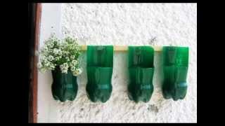 getlinkyoutube.com-Ideas para reciclar botellas de plastico