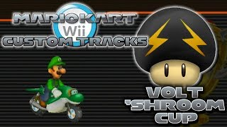 getlinkyoutube.com-Mario Kart Wii Custom Tracks - Volt 'Shroom
