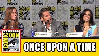 getlinkyoutube.com-Once Upon a Time Comic Con 2015 Panel - Lana Parrilla, Ginnifer Goodwin, Jennifer Morrison, Season 5