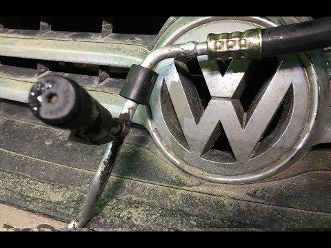 ТУАРЕГ, ТРУБКИ КОНДИЦИОНЕРА,  ремонтируем кондиционер. VW TOUAREG, ремонт трубок кондиционера