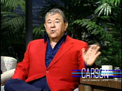 Buddy Hackett Reveals His Real Name on Johnny Carson's Tonight Show, 1989