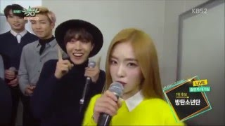 getlinkyoutube.com-BTS X RED VELVET FUNNY INTERACTIONS