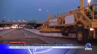 Minneapolis realiza importantes reparaciones en los puentes y las carreteras durante esta primavera